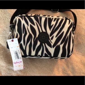Kipling Zebra Print Bag